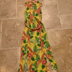 Zoey Maxi dress for girls size 10